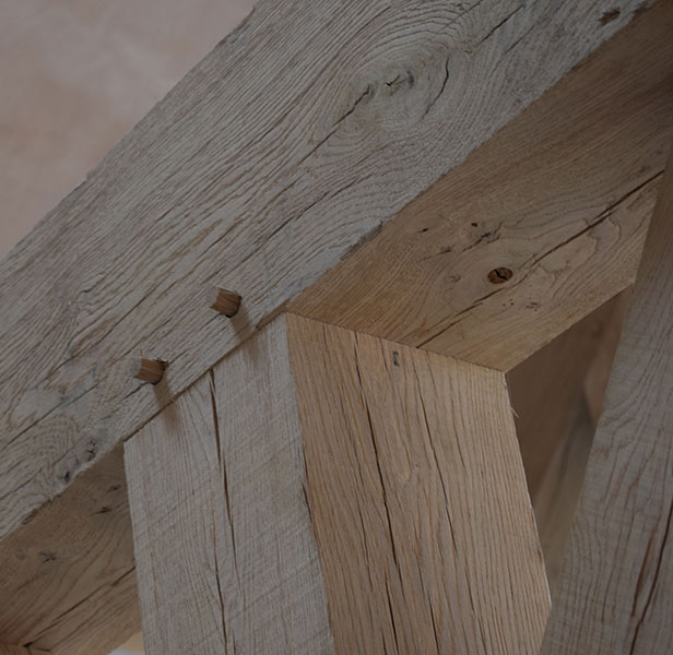 Timberpride Green Oak Beams for Structure