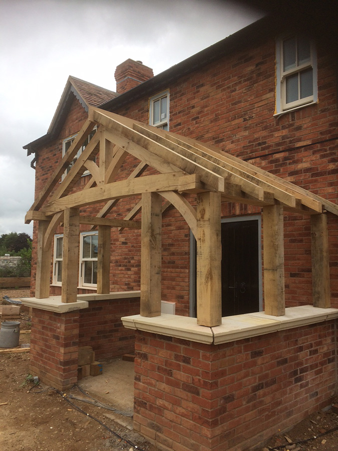 Shellam Oak Frame Structure