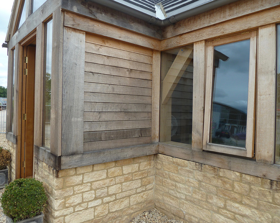 Timberpide-Entrance-with-Oak-Cladding