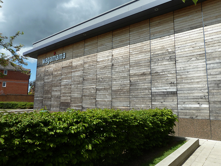 Wagamama-oak-cladding