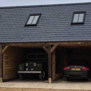 OAK FRAME GARAGES