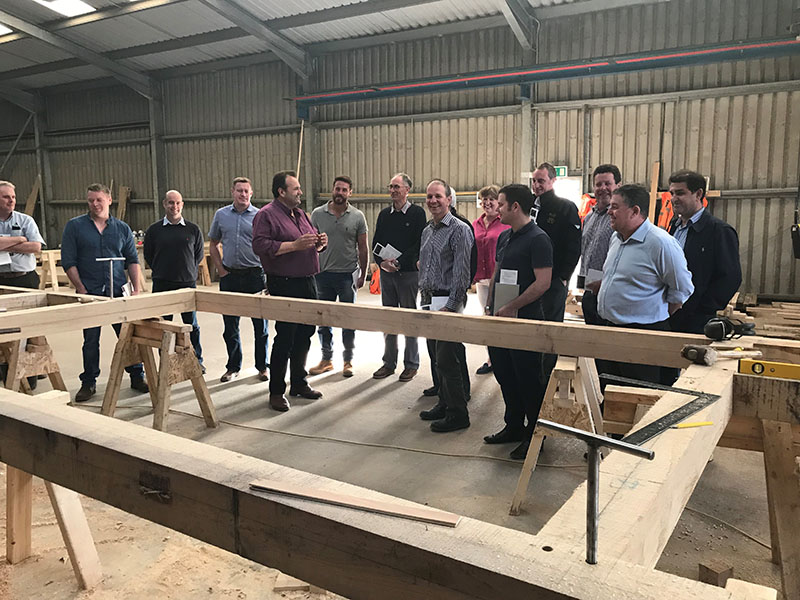 Oak Framing Meeting Timberpride