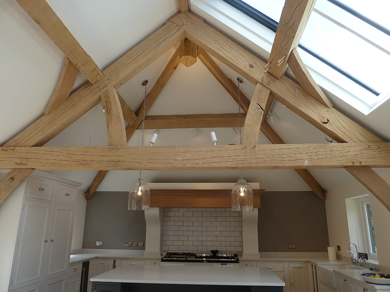 Oak Roof Trusses Oak Feature Trusses Timberpride