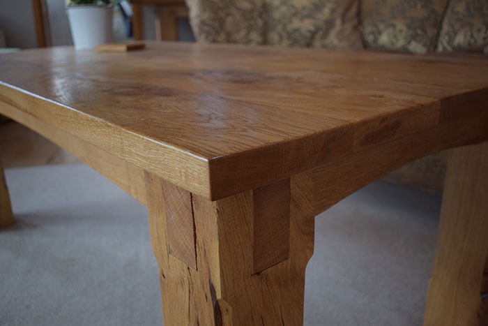 Oak Table Joints