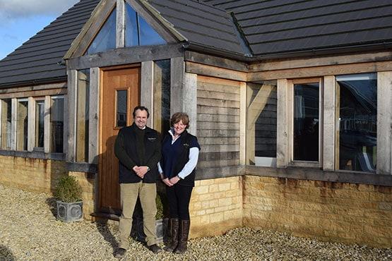 Alec and Victoria Golesworthy, Timberpride's Oak Sawmill Company Directors