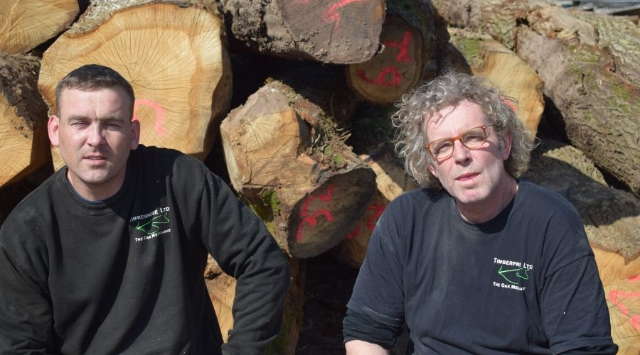 Carl and Marcus of the Timberpride Team