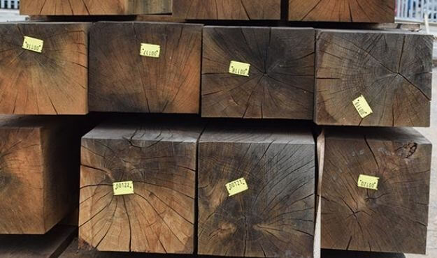 Graded structural oak
