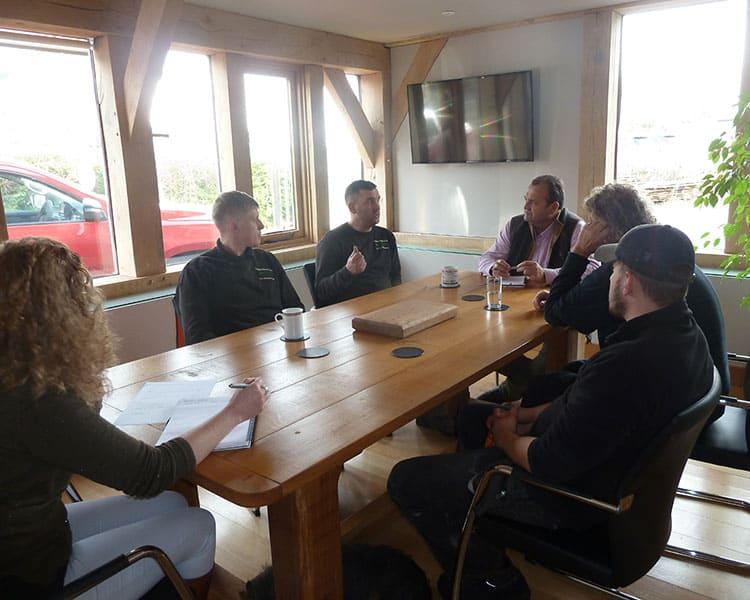 Timberpride Team Meeting