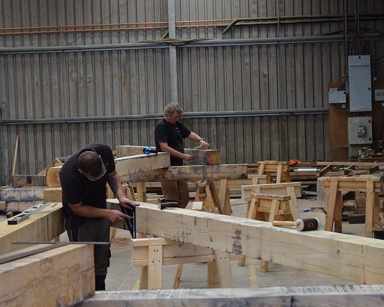 Timberpride Team working together